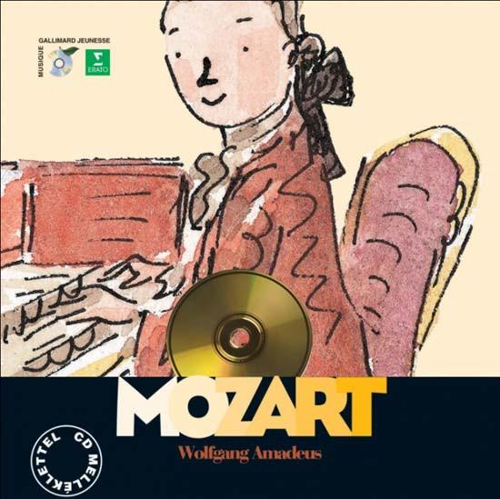 Wolfgang Amadeus Mozart (CD melléklettel)